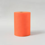 "6""x100yd Tulle Rolls - Orange"