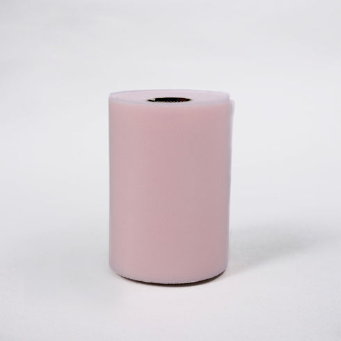 "6""x100yd Tulle Rolls - Pink"