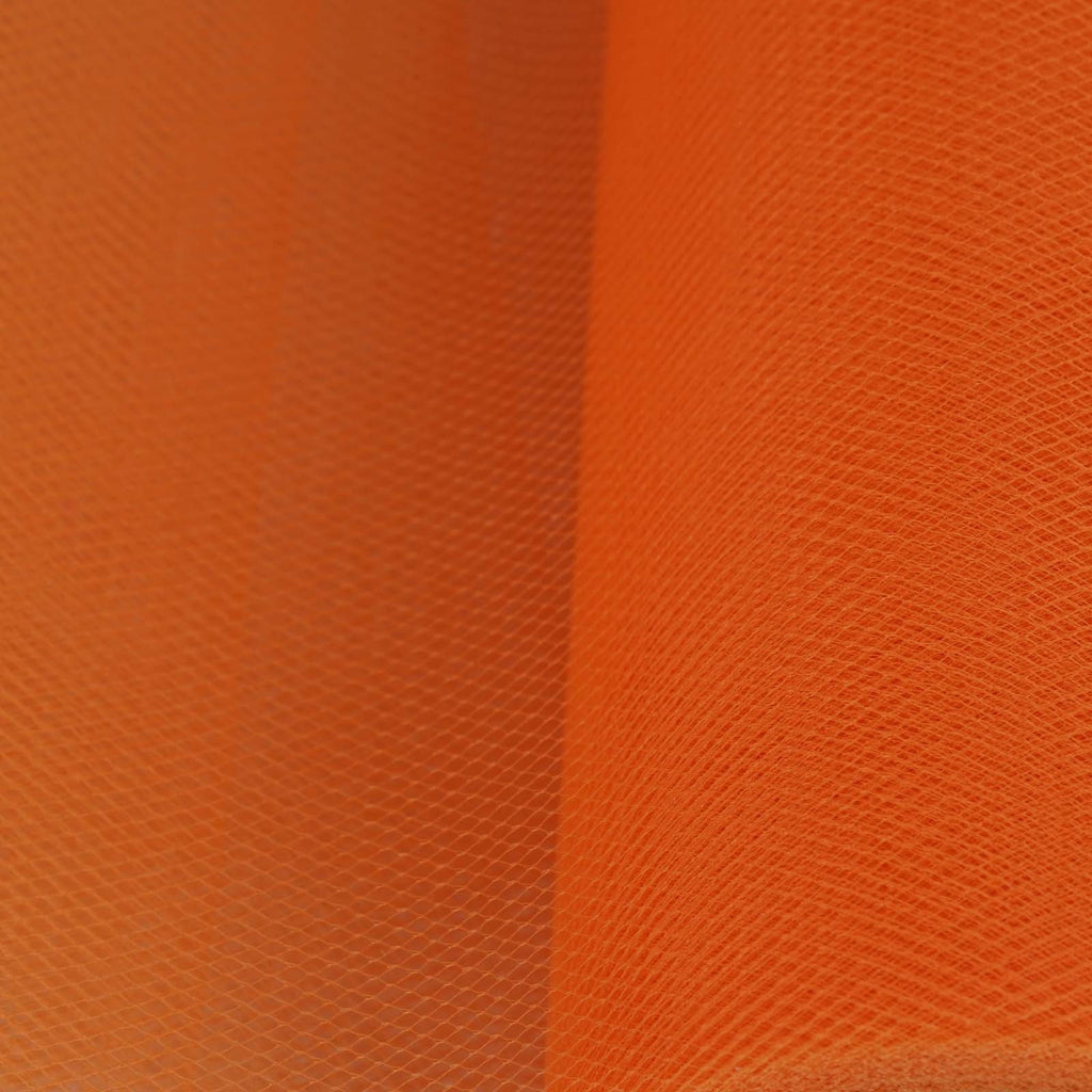 "6""x25yd Tulle Rolls - Orange"