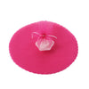 "25 Pack | 9"" Fushia Premium Tulle Circle Gift Favor Wrap"