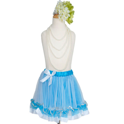 I Scream for Ice Queen Aqua Tutu Skirt