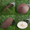 "32"" Chocolate Paper Parasol Umbrella"