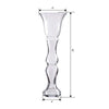 4 Pack | 20'' Trumpet Glass Vase
