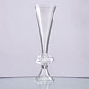 "13"" Tall 4 Pcs Trumpet Pilsner Glass Floral Vase Centerpiece For Wedding Event Table Decor"