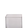 2 Pack - 7inch Glass Cylinder Vases | Votive Candle Holders