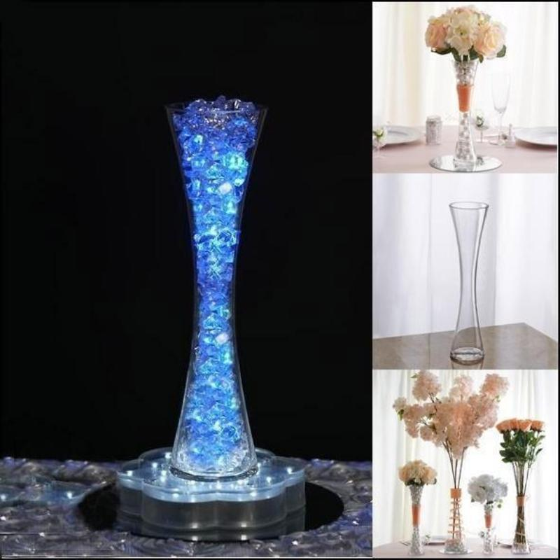 Pack quot heavy duty hour glass vase flower
