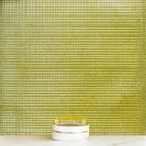 "10 Pack | 12""x12"" Gold Peel and Stick Mosaic Mirror Wall Tiles"