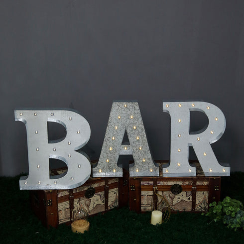 Light up letters | Marquee Sign | Marquee Letter Lights | Large Marquee Letters