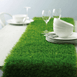 All Weather Wedding Party Artificial Grass Table Runner