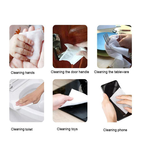 Face Cleansing Wipes, Antibacterial Wet Wipes
