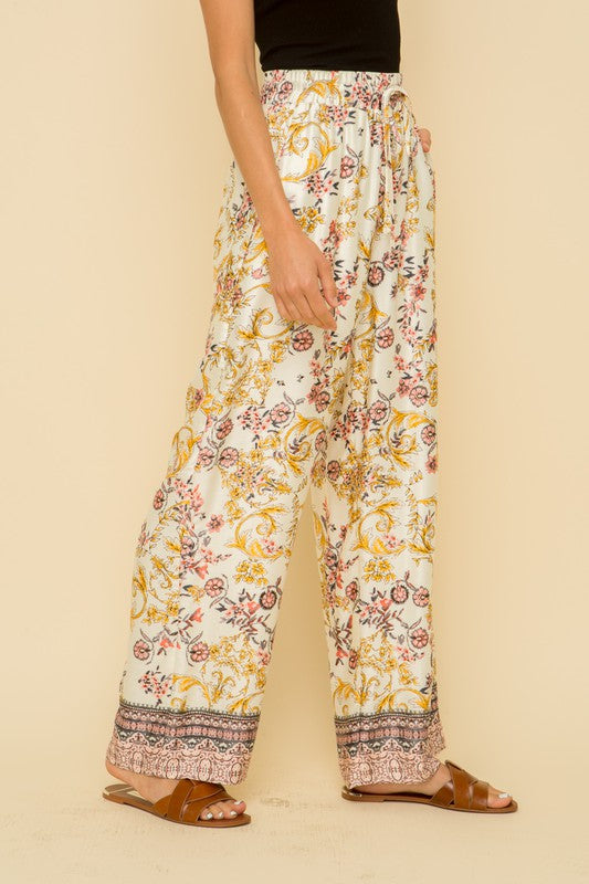 Silky Drawstring Pants