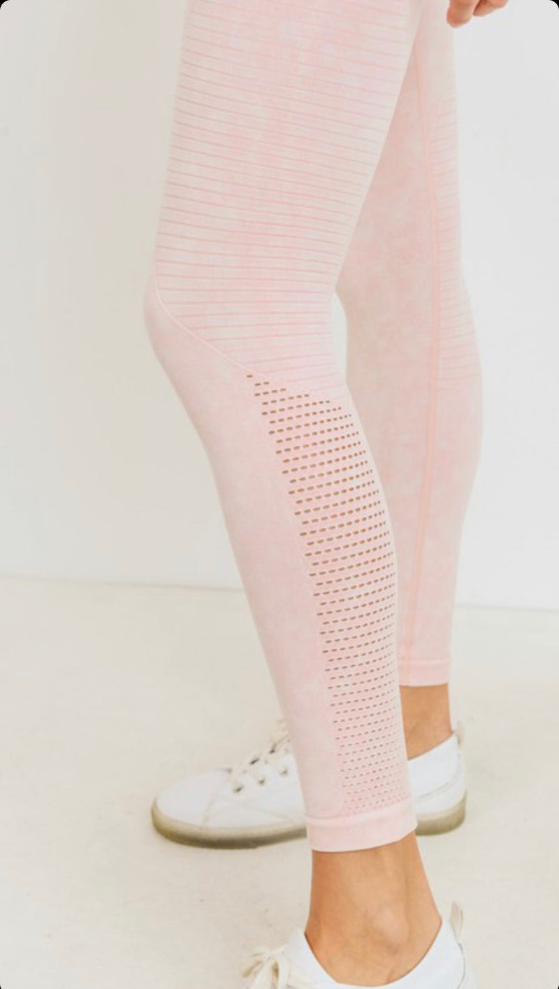 Peach Seamless Legging