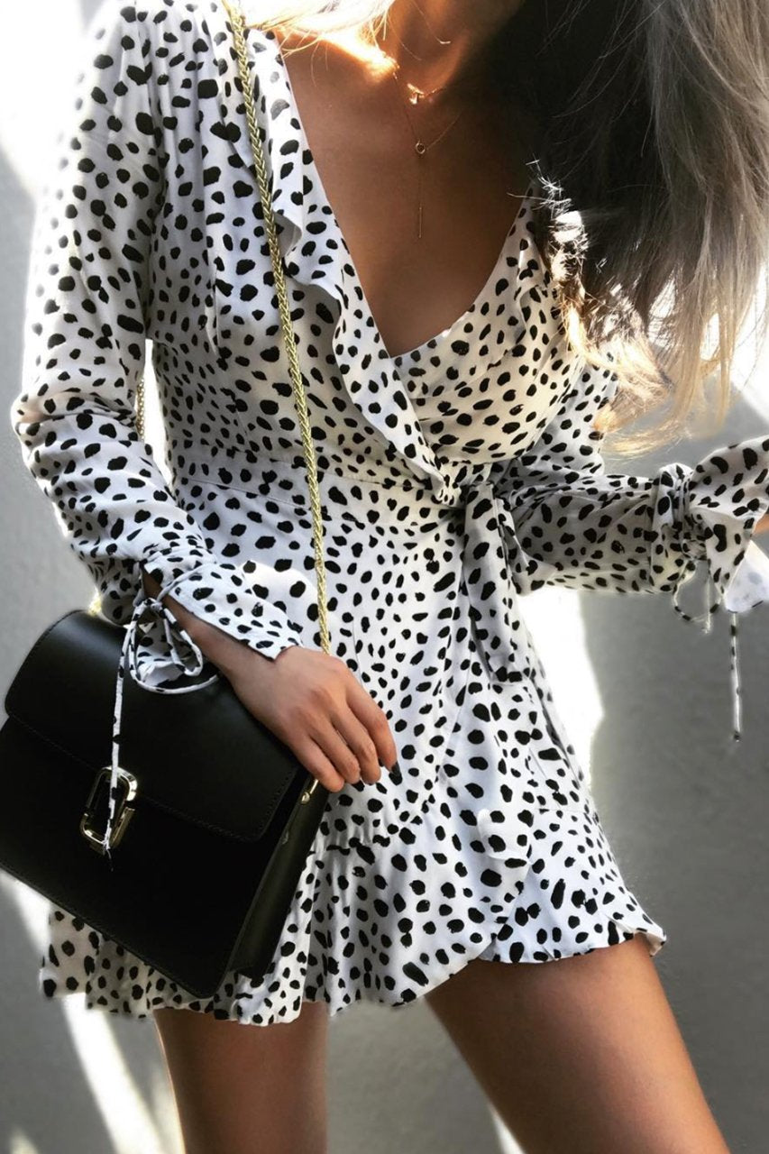 Flirty Wrap Dress