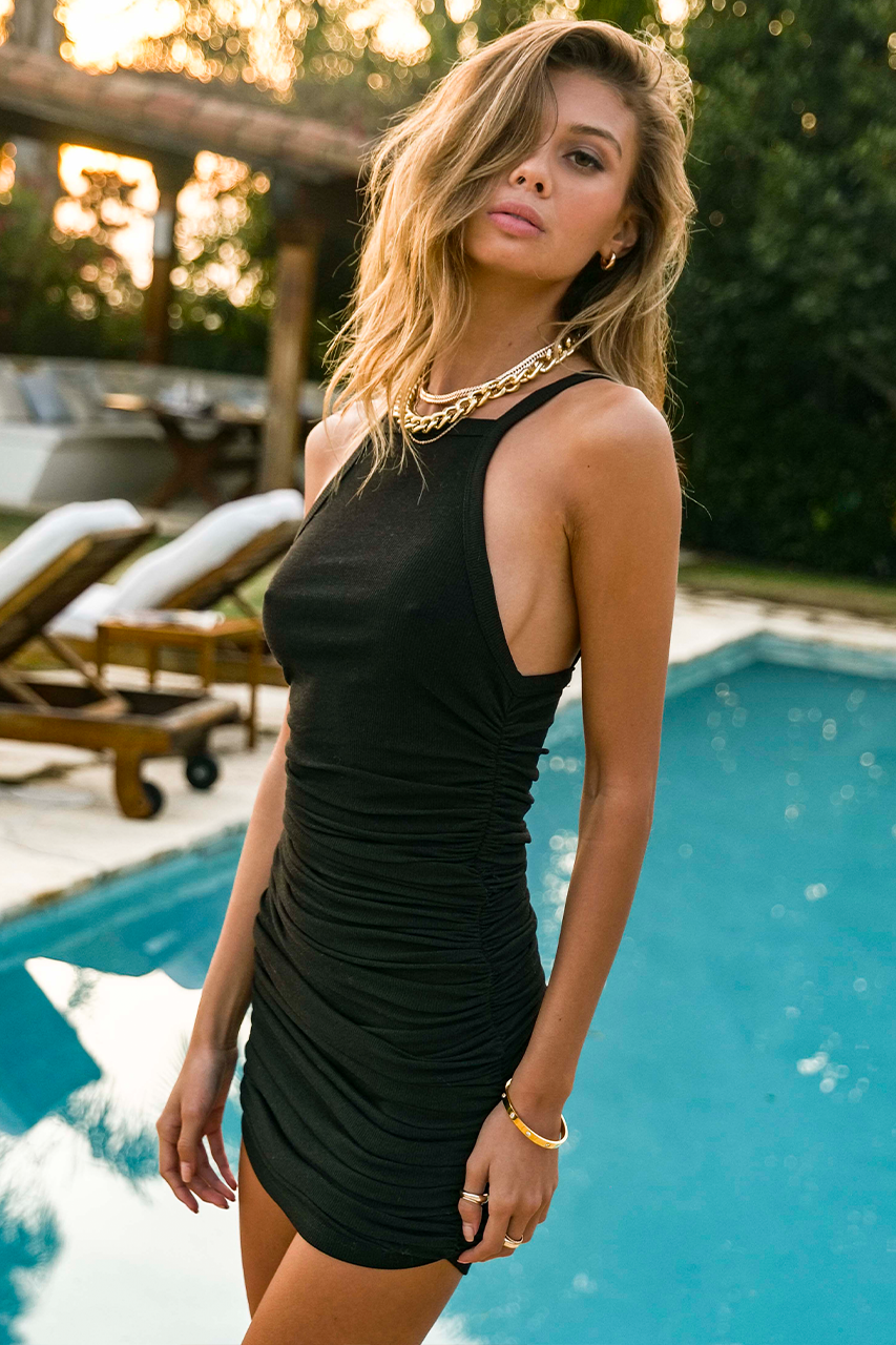 Black Miranda Dress