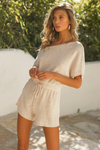 Oatmeal Izzy Knit Playsuit