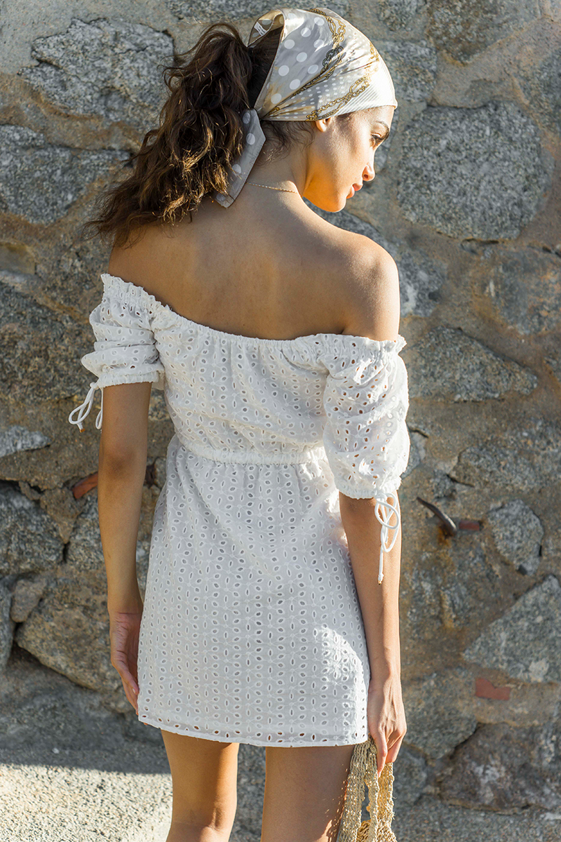 Escapade Eyelet Dress