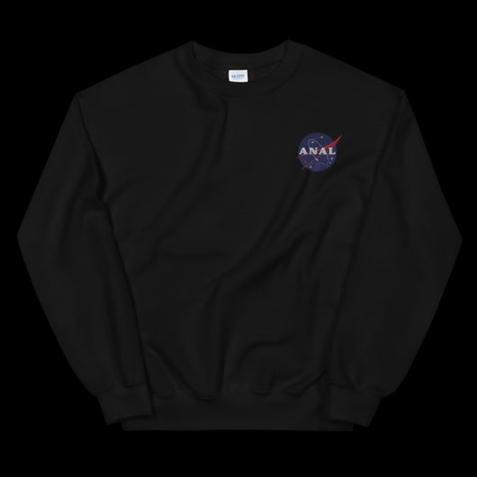NASA ANAL EMBROIDERED Sweatshirt.