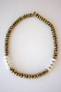 341 - Horn Bead Necklace