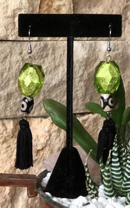 Peridot Green Earring