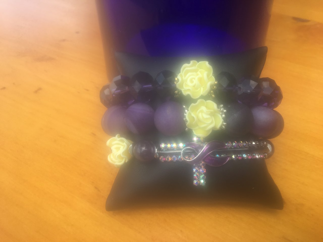 The Suzanne Yellow Rose Stack