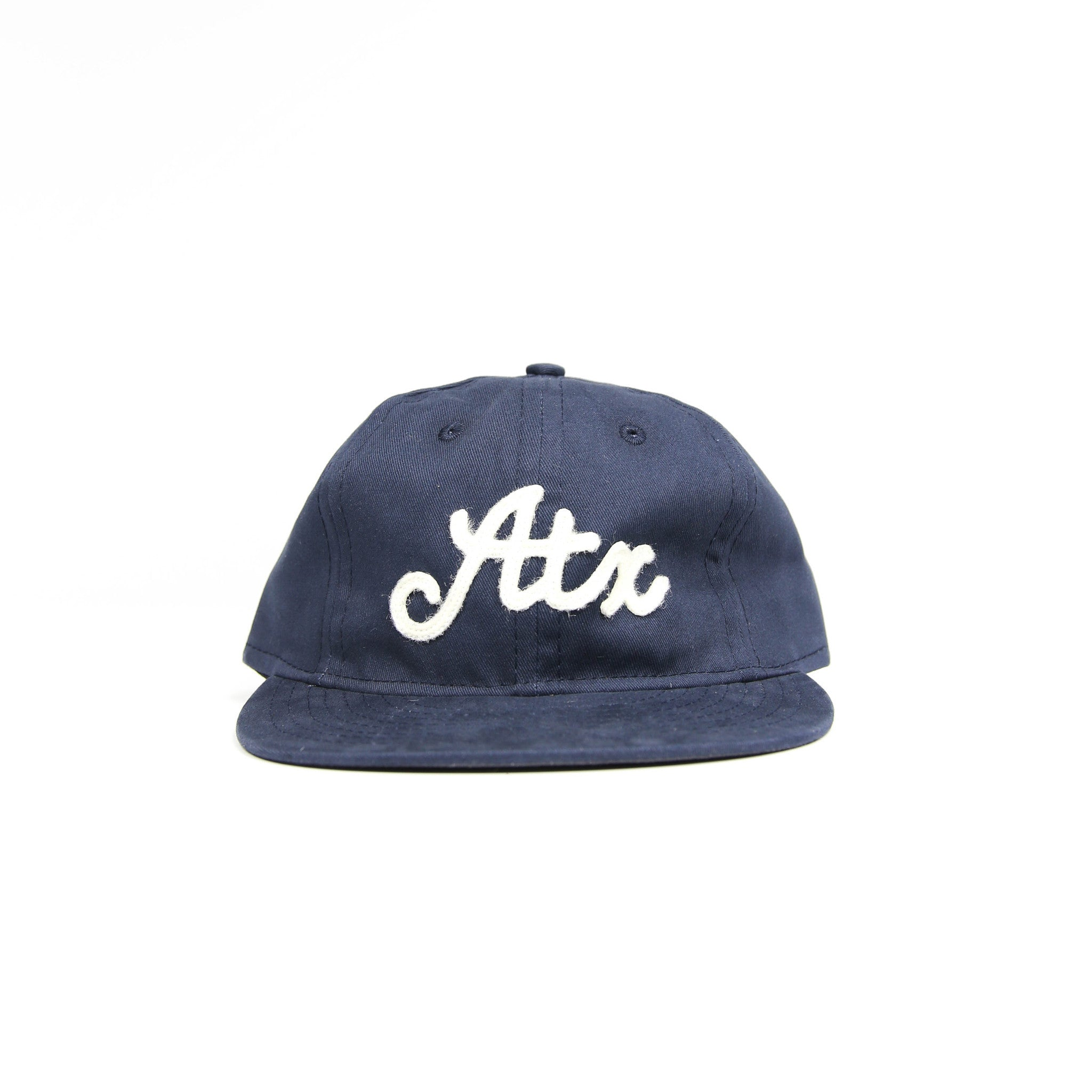 ATX Hat - Navy & Cream
