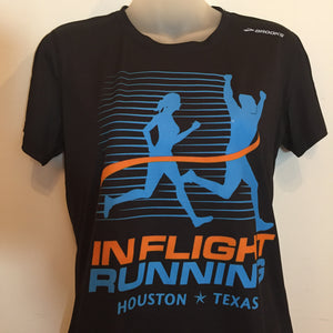 In Flight Running Brooks Women's Dry Fit T - Front