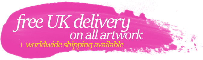 Free UK Delivery on all art prints