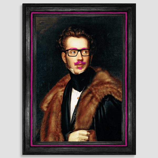 Eclectic Canvas Art Print - Duke Cool