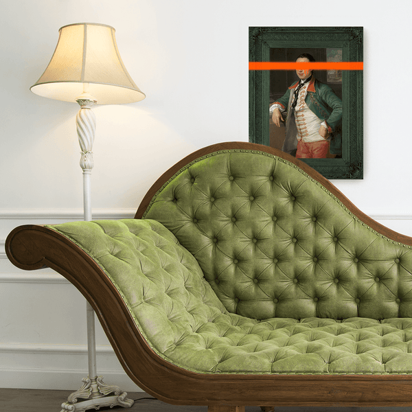 The Vandalised Viscount Canvas Print