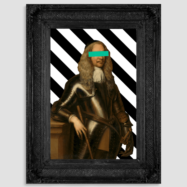 Black frame art ideas