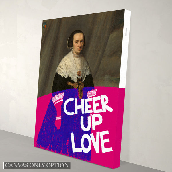 Cheer Up Love Canvas Print