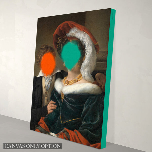 The Concealed Rudolphina - Canvas Print