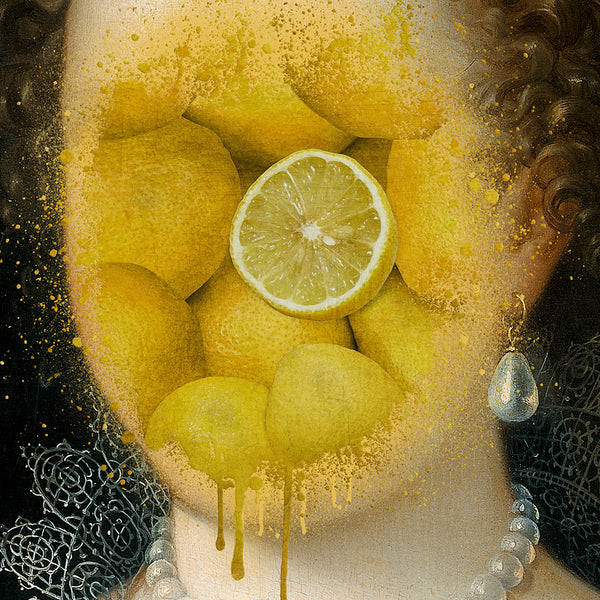 Lady Lemon Canvas Print