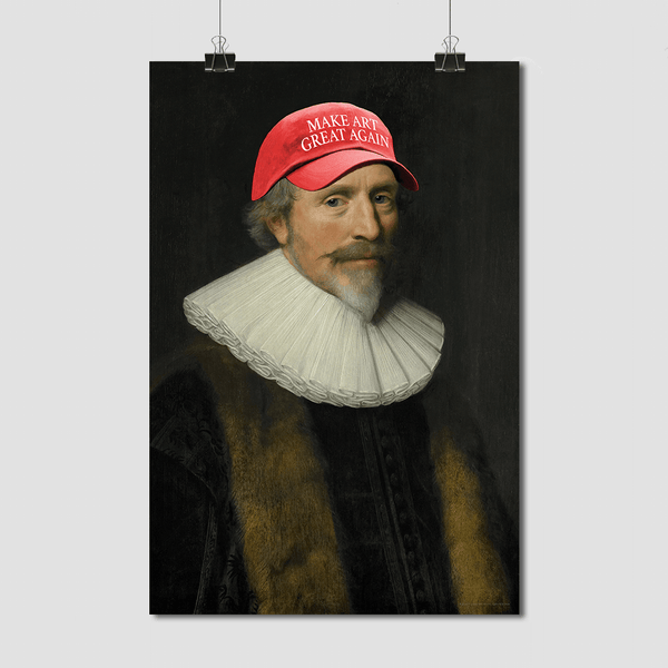 Make Art Great Again - Fine Art Print on Paper
