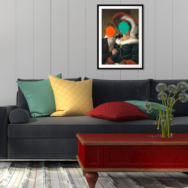 The Concealed Rudolphina - Fine Art Print on Paper
