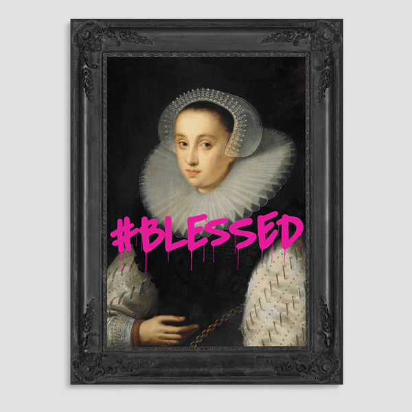 #BLESSED - Canvas Print