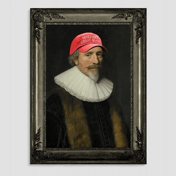 Make Art Great Again Canvas Print