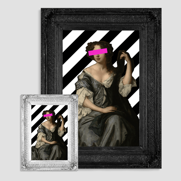 The Lady Louise Canvas Print