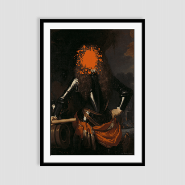 Splat the Cornelius Framed Print