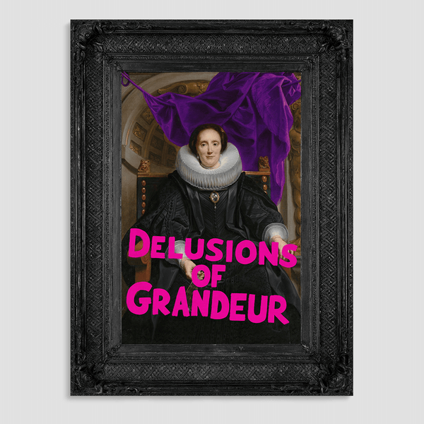 Delusions of Grandeur Canvas Print