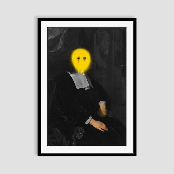 The Depressed de la Court - Fine Art Print on Paper