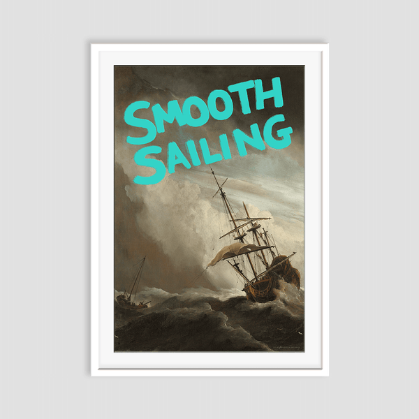 Smooth Sailing - Fine Art Print on Paper