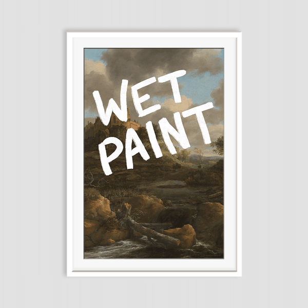 Wet Paint - Fine Art Print on Paper