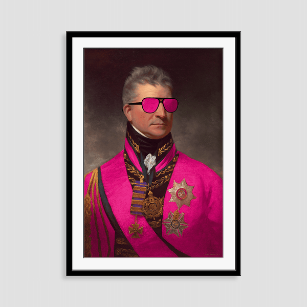 Admiral Awesome - Fine Art Print on Paper
