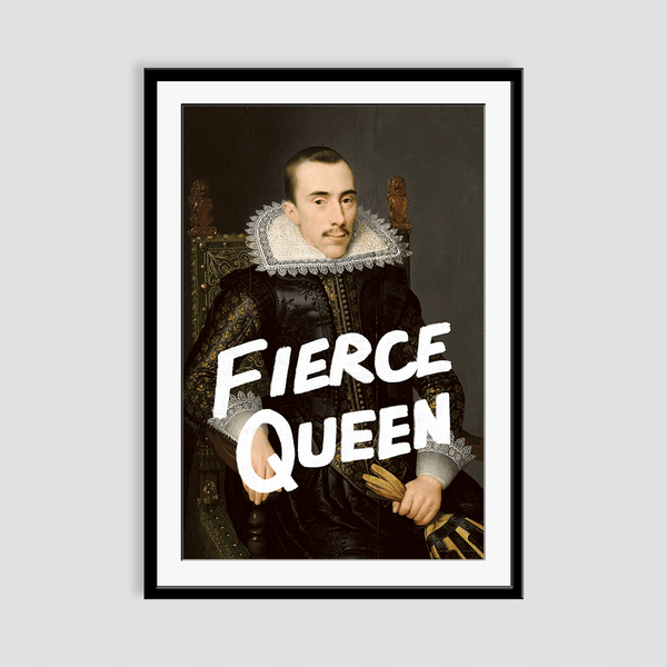 Fierce Queen - Fine Art Print on Paper