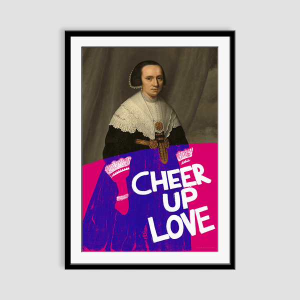 Cheer Up Love Framed Print