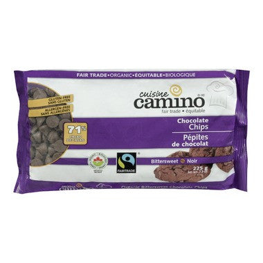 Cuisine Camino Fair Trade Bittersweet Chocolate Chips