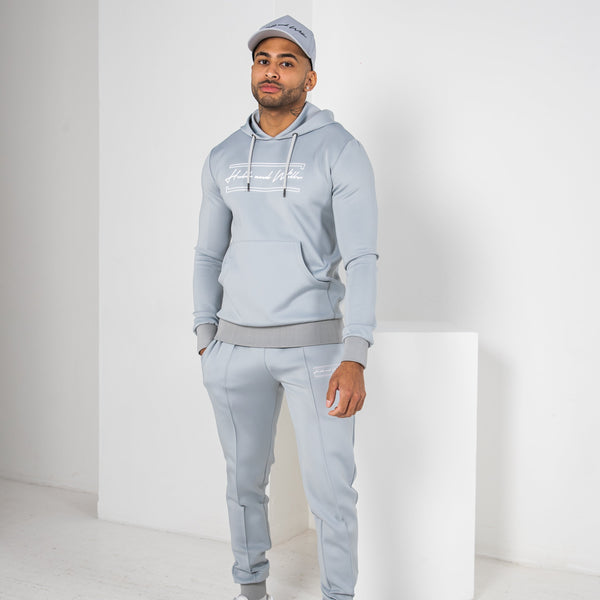 Hubb & Wills Scripto Tracksuit - Grey