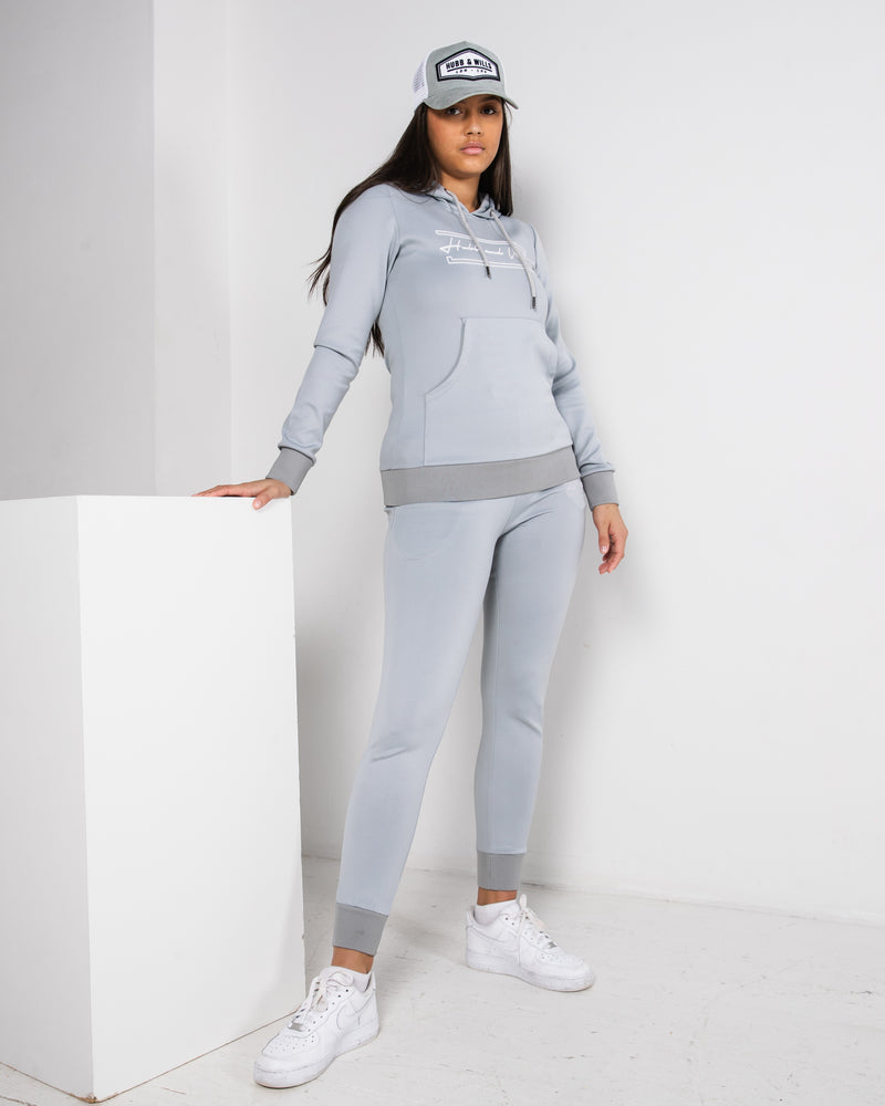 Hubb & Wills For Her Scripto Grey Joggers