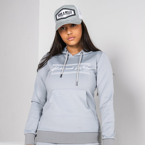 Hubb & Wills For Her Scripto Tracksuit - Grey